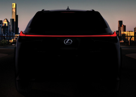 Lexus Teases New Entry-Level UX SUV