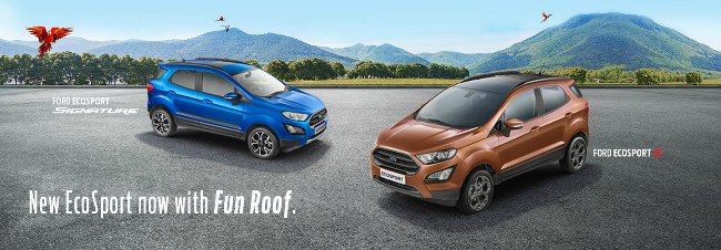 Ford Ecosport S And Signature Edition Launched Gaadi