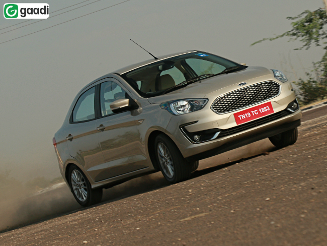 2018 Ford Figo Aspire Facelift: First Drive Review | Gaadi