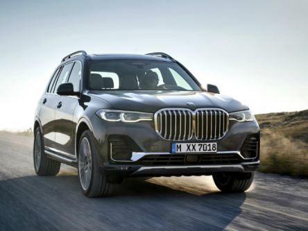First-Ever BMW X7 Unveiled