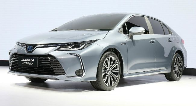 2019 Toyota Corolla Showcased Gaadi