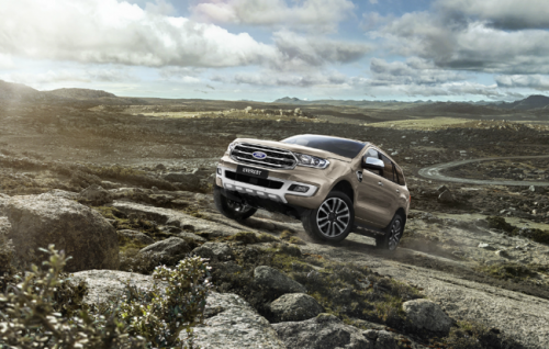Ford Endeavour Facelift Launch By April 2019