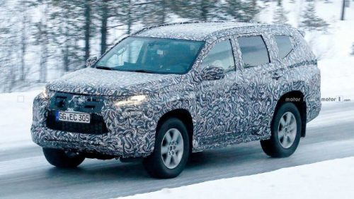 2019 Mitsubishi Pajero Sport Facelift Spied For The First Time