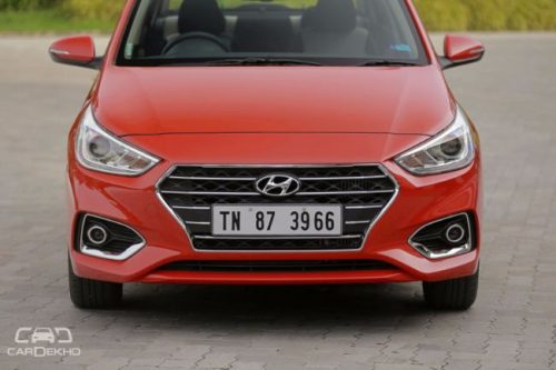 Hyundai Verna Facelift Spotted, India Launch Likely In 2020