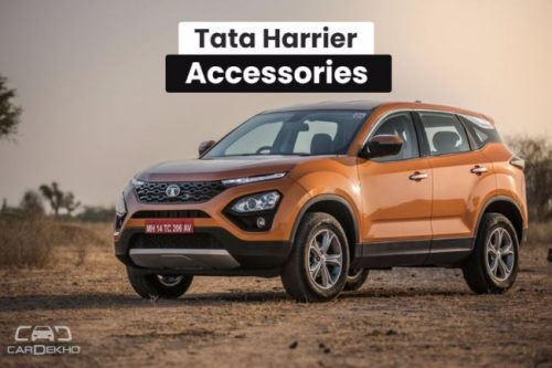Tata Harrier Accessories: Gets Roof Rails, Chrome Garnish & More, No Sunroof
