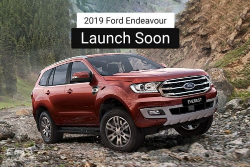 2019 Ford Endeavour Facelift To Go On Sale By March