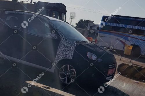 Next-gen Grand i10 Spied Ahead Of 2019 Launch