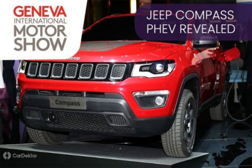 Jeep Compass Plug-in Hybrid Centre-staged At Geneva Motor Show