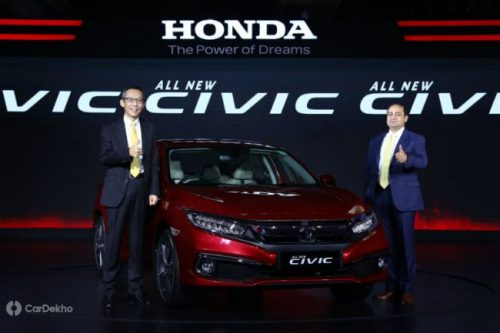2019 Honda Civic Launched At A Starting Price Of Rs 17.69 Lakh