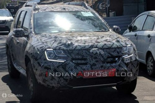 Current-gen Renault Duster Spotted With LED DRLs