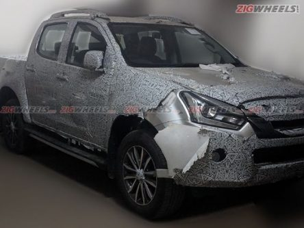 2019 Isuzu D-Max V-Cross Spied Again