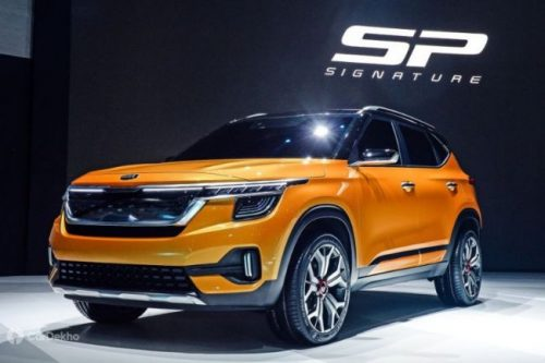 Kia SP Signature Production-Version Showcased At Seoul Motor Show