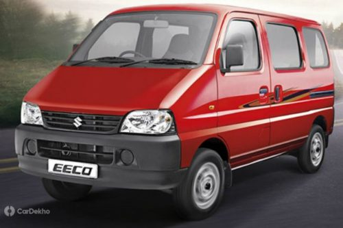 Maruti Eeco Gets A Safety Update - ABS & Driver Airbag As Standard