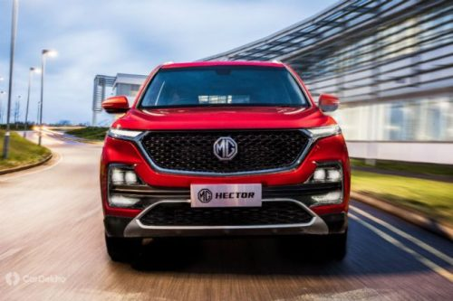 MG Hector Official Images Released
