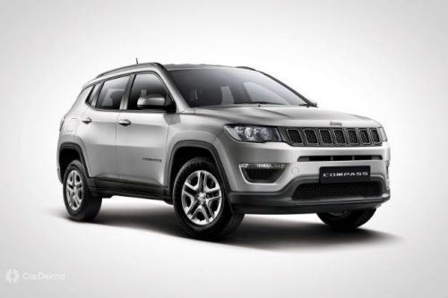 Jeep Compass Sport Plus Launched At Rs 15.99 Lakh