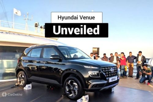 Hyundai Venue Unveiled, Reveals Bold Styling
