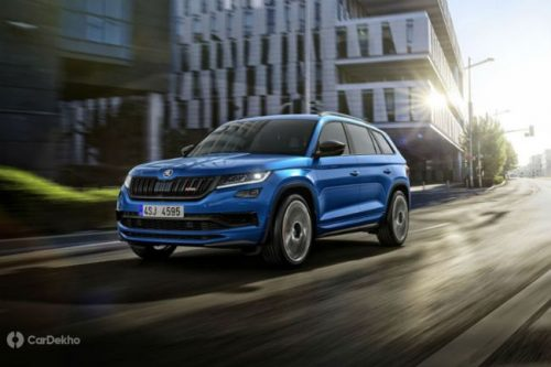Skoda Kodiaq Petrol Soon, Go-Fast RS Version Also Expected