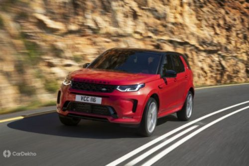 Land Rover Unveils Discovery Sport Facelift Version