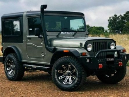 Mahindra To Launch Thar Signature Limited Edition SUV