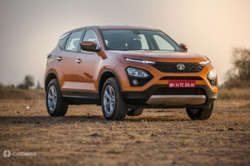 Tata Harrier Likely To Get More Powerful BS-VI Engine