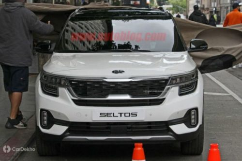 Kia SP2i Model Spotted Sans Camouflage, To Be Branded As Seltos