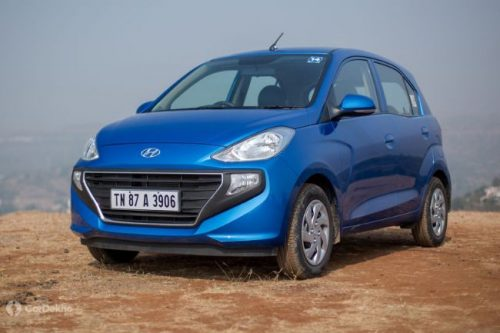 Hyundai To Revise Santro Lineup, New Features Expected