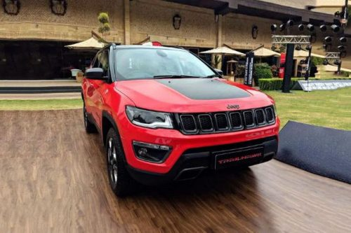 Jeep Opens Pre-Booking Of Compass Trailhawk
