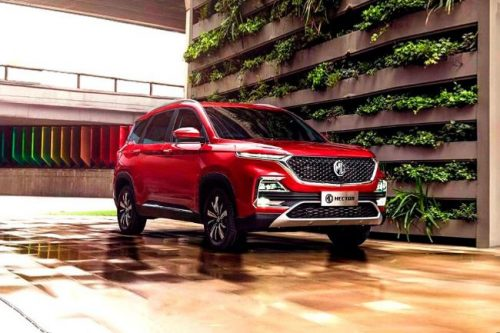 MG Hector Now Available For Test Drive