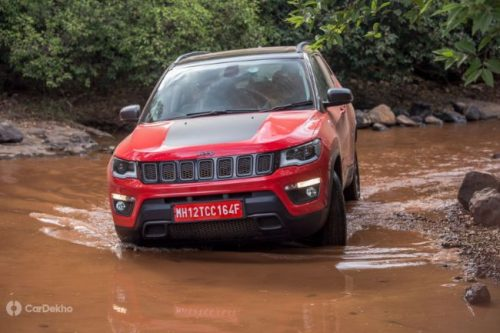 Jeep Launches Compass Trailhawk SUV In India
