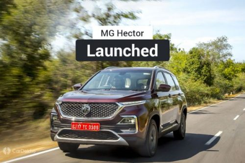 MG Launches Hector SUV, Undercuts Several Competitors