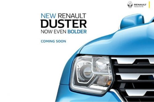 Renault Teases New Duster, Launch Soon