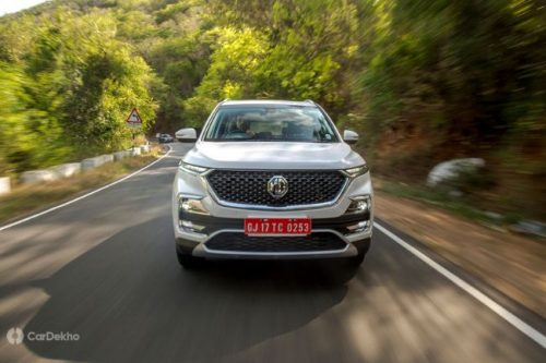 MG May Introduce BS-VI Diesel Engines In Over ₹15 Lakh Cars Only