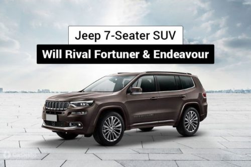 Jeep Working On 7-Seat SUV For India