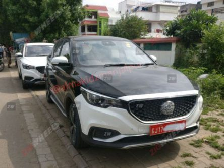India-Specific All-Electric MG eZS Spotted