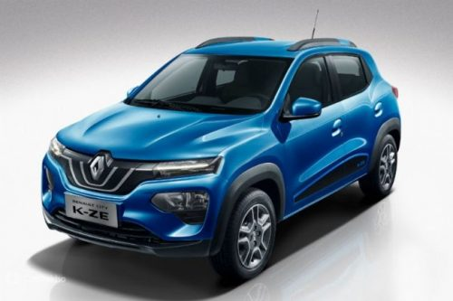 Renault Kwid Facelift Spotted Again, Bigger Touchscreen Visible