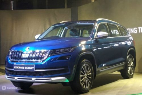 Skoda Launches Kodiaq Scout At ₹33.99 Lakh