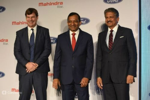 Mahindra And Ford Sign Joint Venture, To Be Operational By Mid-2020