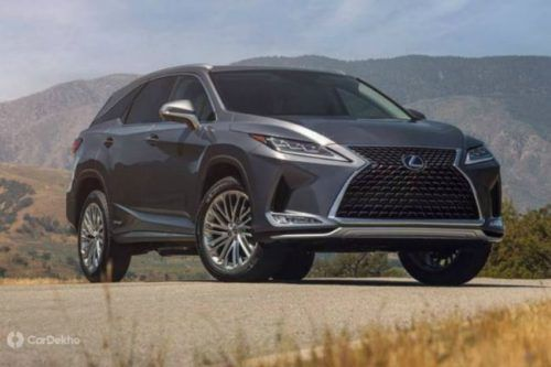 Lexus RX 450hL Is In India, Gets A Price Tag Of ₹ 99 Lakh