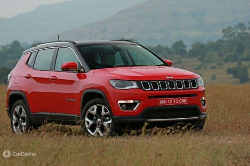 Get Yourself A Jeep Compass And Save Up To ₹ 1.5 Lakh