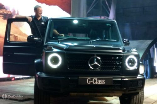 Mercedes-Benz Launches G 350 d SUV at ₹1.5 Crore