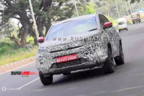 Tata Nexon Facelift Spotted Again, Likely To Launch At 2020 Auto Expo