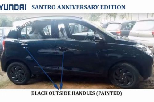 Hyundai Reveals Santro Anniversary Edition, Prices Disclosed