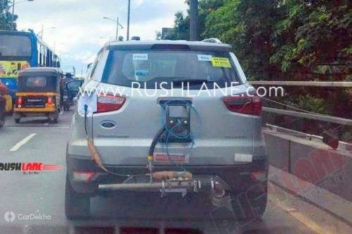 Ford EcoSport With BS-VI Engine Spotted Testing, Auto Expo Launch Likel