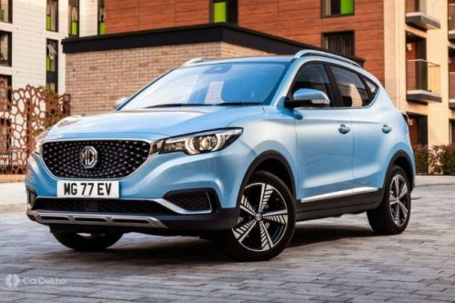 MG Motor Lists ZS EV On Its Official Indian Website