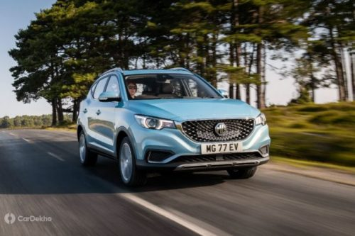 Delhi NCR To Get 4 MG ZS EV Charging Points