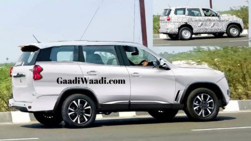 2020 Mahindra Scorpio Cabin Spotted, Reveals Instrument Cluster