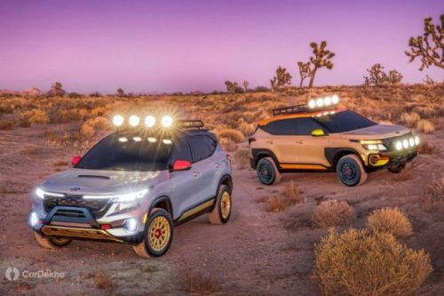 Kia Unveils Seltos X-Line Trail Attack And Urban Concept Cars