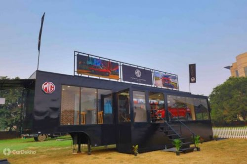 MG Rolls Out Mobile Showroom, To Tour with Hector